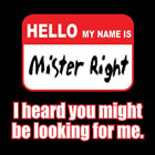T-Shirt Mr. Right