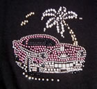 Studded T - Shirt Florida